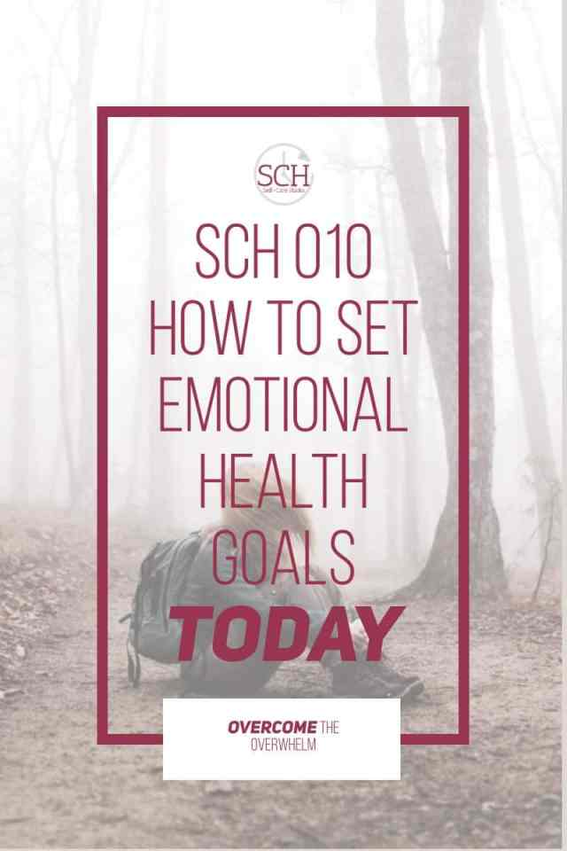 Have you ever thought about setting emotional health goals? And what's the difference between emotional health and mental health? Find out in today's Self-Care Hacks podcast. #selfcare #selfcarehacks #emotionalhealth #emotions #mentalhealth #podcast #anger #relationships