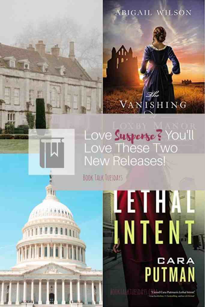What's your favorite spine-chilling suspense genre? Gothic? Contemporary? These two new releases will keep you turning pages far into the night. #amreading #suspense #gothic #historical #contemporarysuspense #christiansuspense #lovetoread #inspy #netgalley