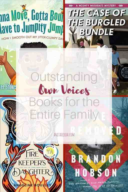 Looking for age-appropriate own voices books for your entire family? Check out these four new releases. Each one will give you something to think about. #ownvoices #literature #picturebooks #YA #MG #familyreadingnight #booksforeveryone #inclusive #antiracist #NativeAmerican #BIPOC
