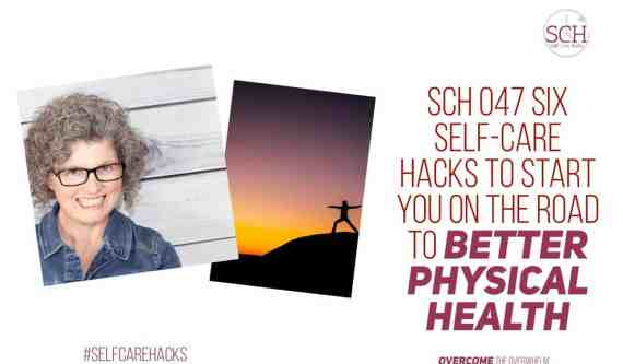 The road to better physical health is always open. You just have to turn down it and get started. Today's podcast will map out six hacks you can take to start down the road to a better you.#SelfCareHacks #physicalhealth #physicalselfcare #selfcare #goals #healthyliving #health #podcast #blogger