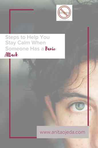 Have you ever stood helplessly by while someone you love experienced a panic attack? These tips will help you respond in a way which will actually help and assure the one who suffers. #panicattacks #parenting #teengirl #anxiety #mentalhealthmonth #stopthestigma #mentalillness #panicdisorder #kindness #support #therapist #christian
