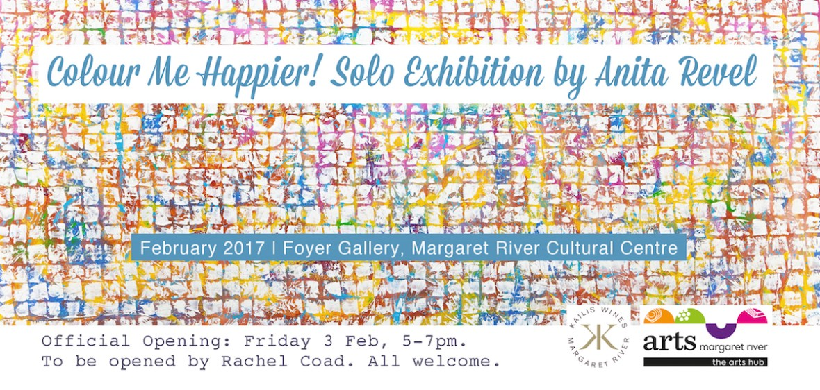 invitation to exhibition at Foyer Gallery Margaret River