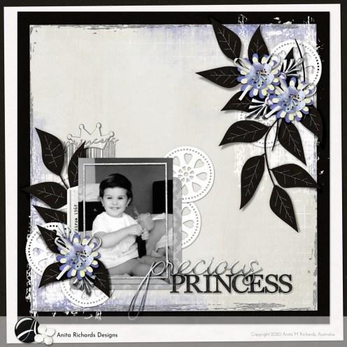 Layout: Precious Princess