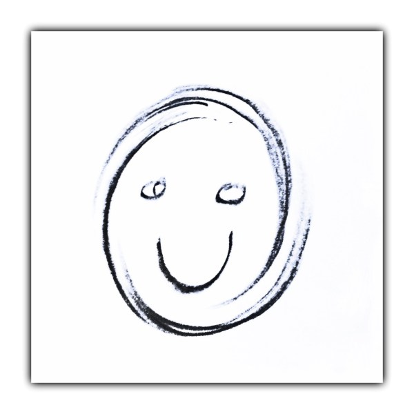 Smile Again: Day 6 Crayon on Plain Paper