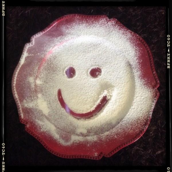 Smile Again: Day 7 Gluten Free Flour on Serving Platter