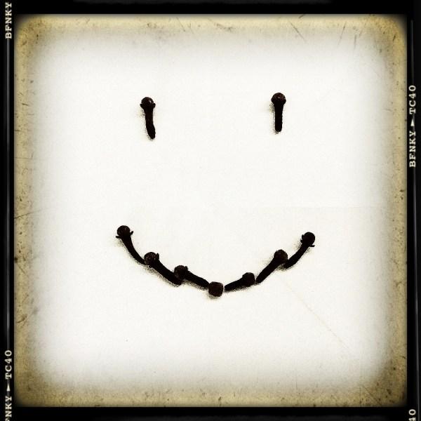 Smile Again: Day 13 Cloves on Plain Paper