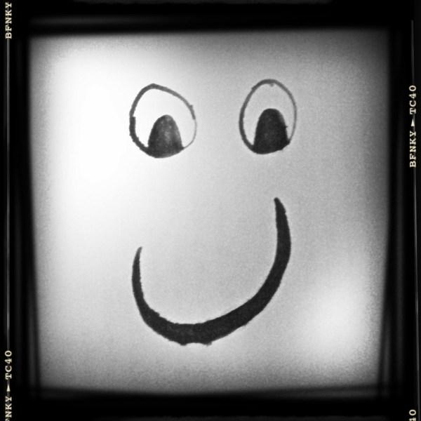 Smile Again: Day 33 Marker Pen on Plain Paper