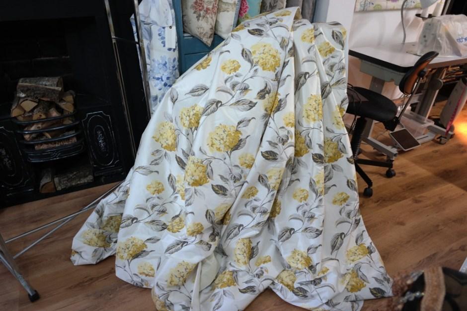 Laura Ashley Hydrangea Curtains