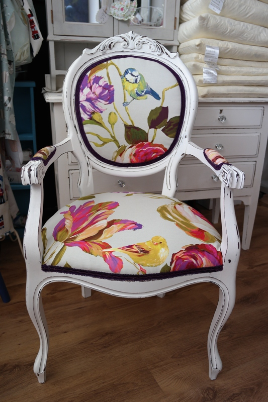 Louis Style Chair Shabby Chic
