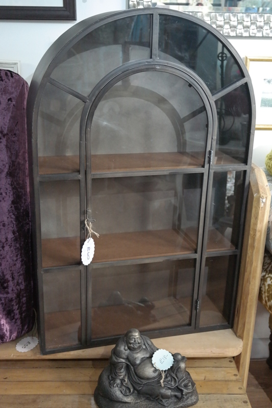 Arch Top Metal Cabinet