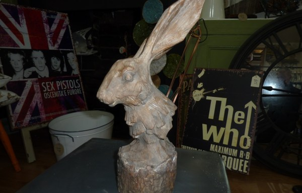 Wooden effect hare