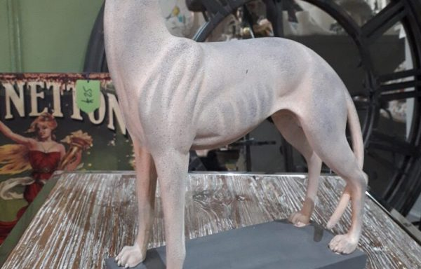 Small Cream Whippet