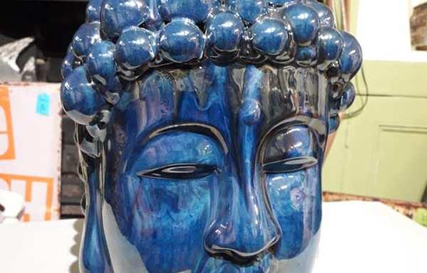 Blue tara head