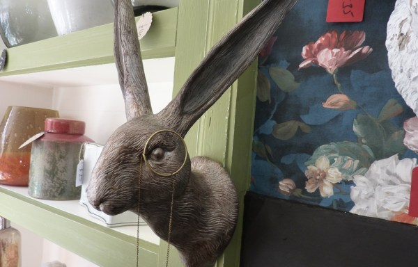"""Hare With Monocle 18"""" 10"""""""