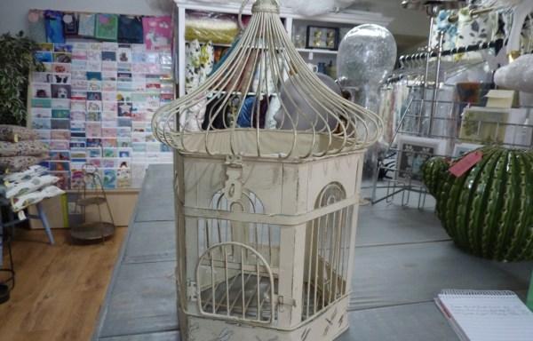 "Metal Bird Cage 17"" £18"