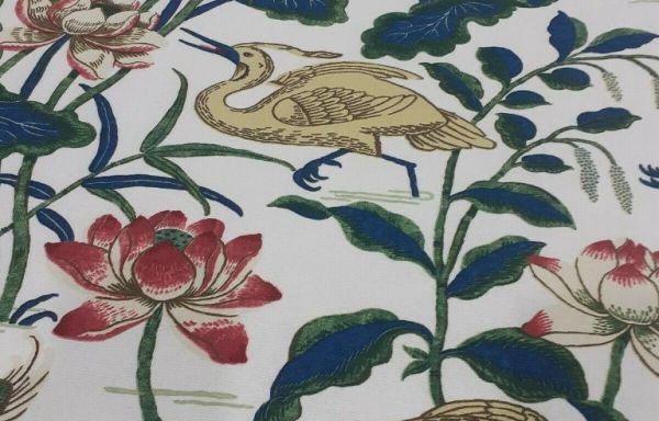 Gp & J Baker Heron & Lotus Blackout lined Curtains