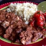 Chicken Mole Slow Cooker Style (Mole Poblano)