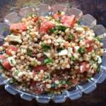 Watermelon Couscous Salad