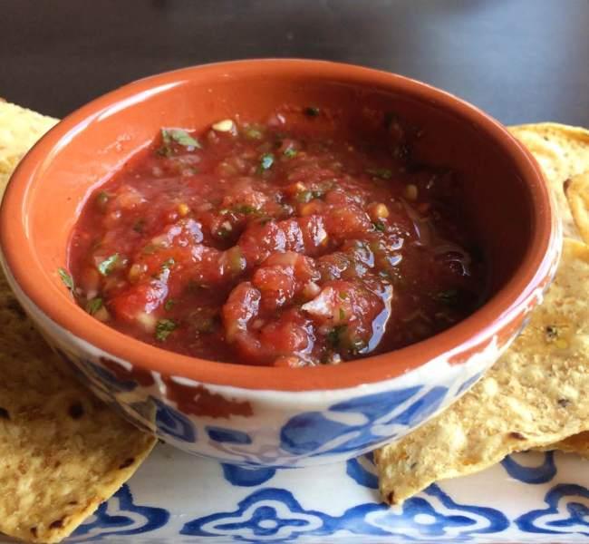 Fresh Tomato and Jalapeno Salsa