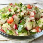 Radish and Cucumber Salsa