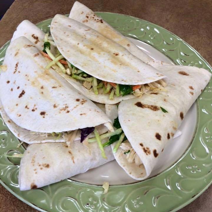 Crunchy Hawaiian Chicken Tacos