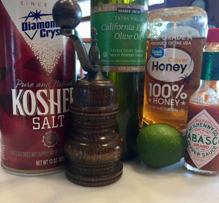 Honey Lime Vinaigrette