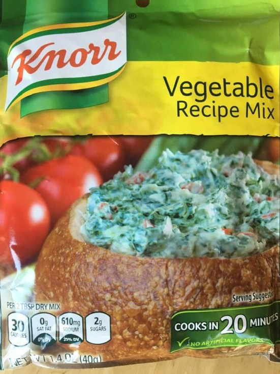 Knorr Vegetable Mix