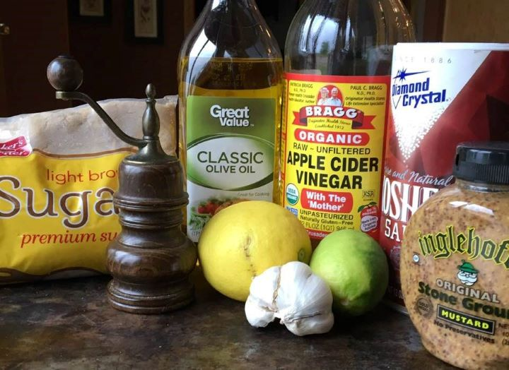 Best Ever Chicken Marinade Ingredients