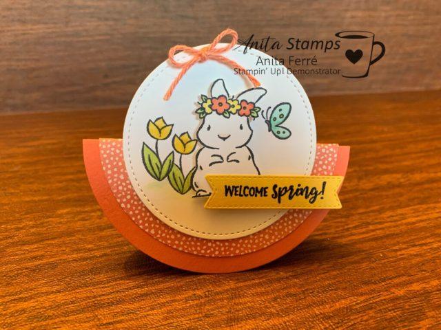 Springtime Joy Rocker Card