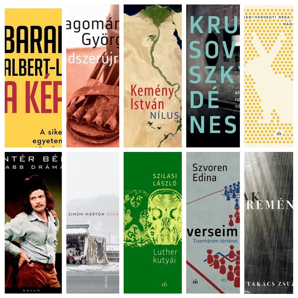 Tíz könyv verseng a Libri irodalmi díjakért