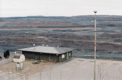 A view from the steel lookout above the Hibbing mine November, 2012