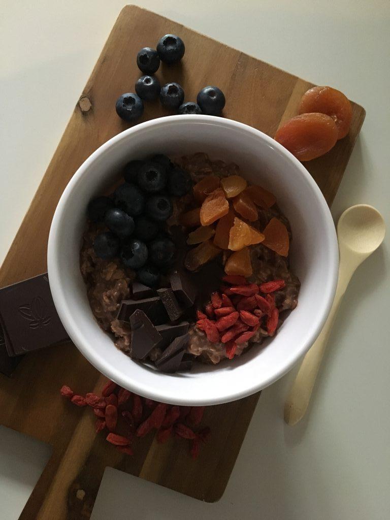 Kjøleskapsgrøt – min faste frokost