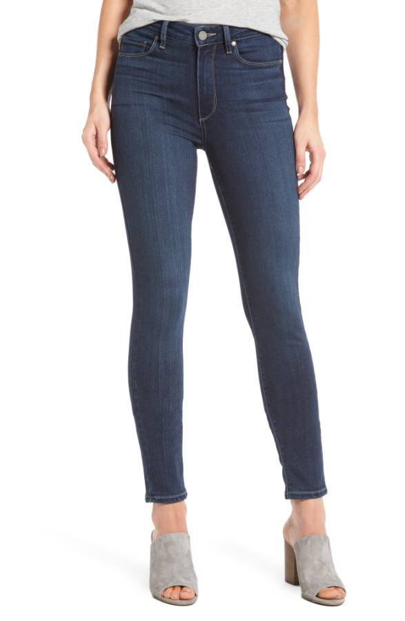 Paige high waisted jeans Nordstrom anniversary sale