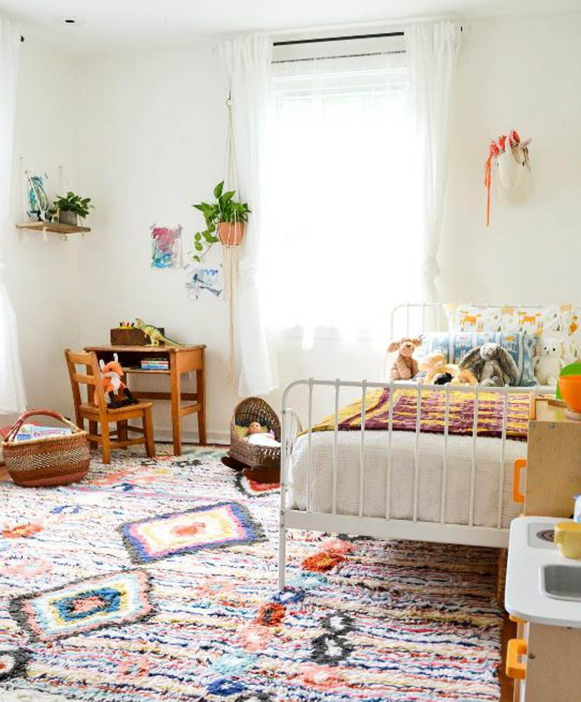 Bohemian Style: Little Girls' Room Inspiration