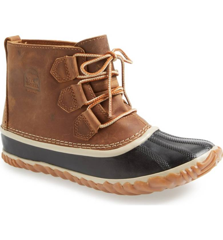Alaskan Cruise Packing Tips: 2. Bring durable, comfortable hiking and/or boots. Sorel in and out rain boot Tan