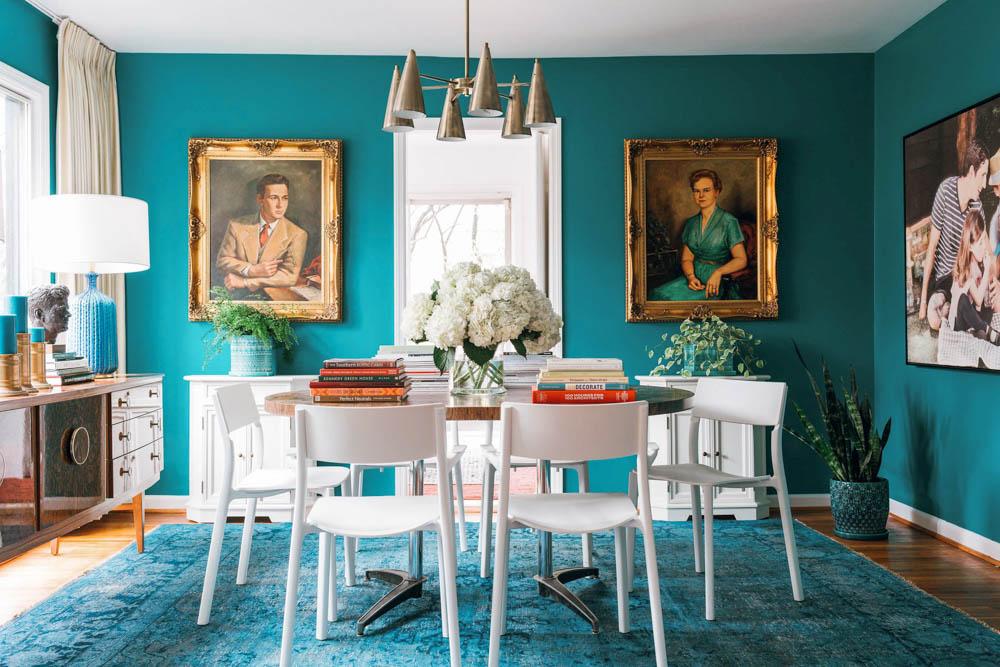 country living magazine Brian Patrick Flynn dining room