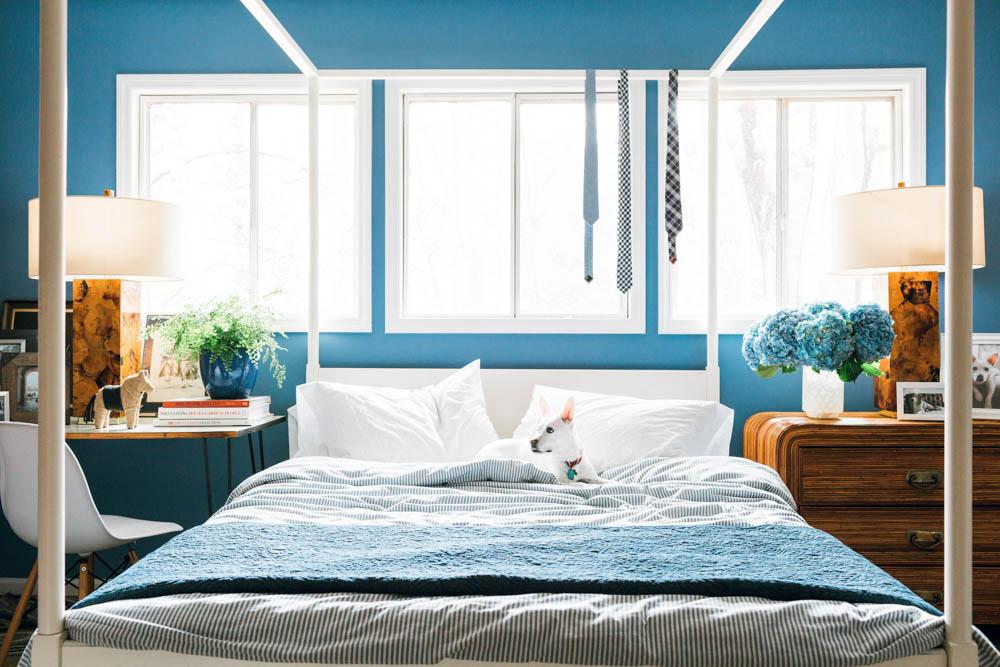country living magazine Brian Patrick Flynn bedroom
