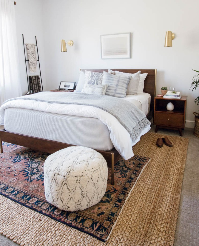 west elm bedroom parachute home scandiboho