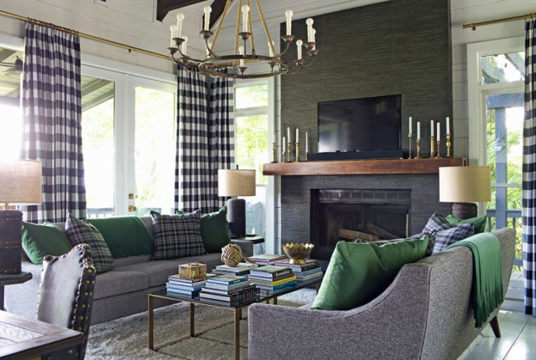 country living magazine Brian Patrick Flynn living room