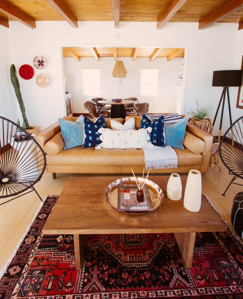 anita yokota photography joshua tree the harriet house joshua tree airbnb eclectic home design vintage rug textiles