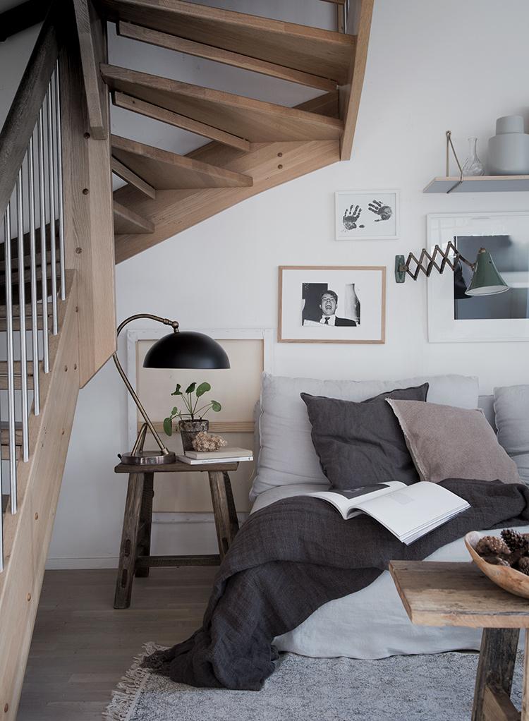 Niki Brantmark my scandinavian home cozy living room style