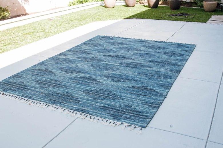 Anita Yokota method cement pad front porch paint sherwin williams target outdoor rug