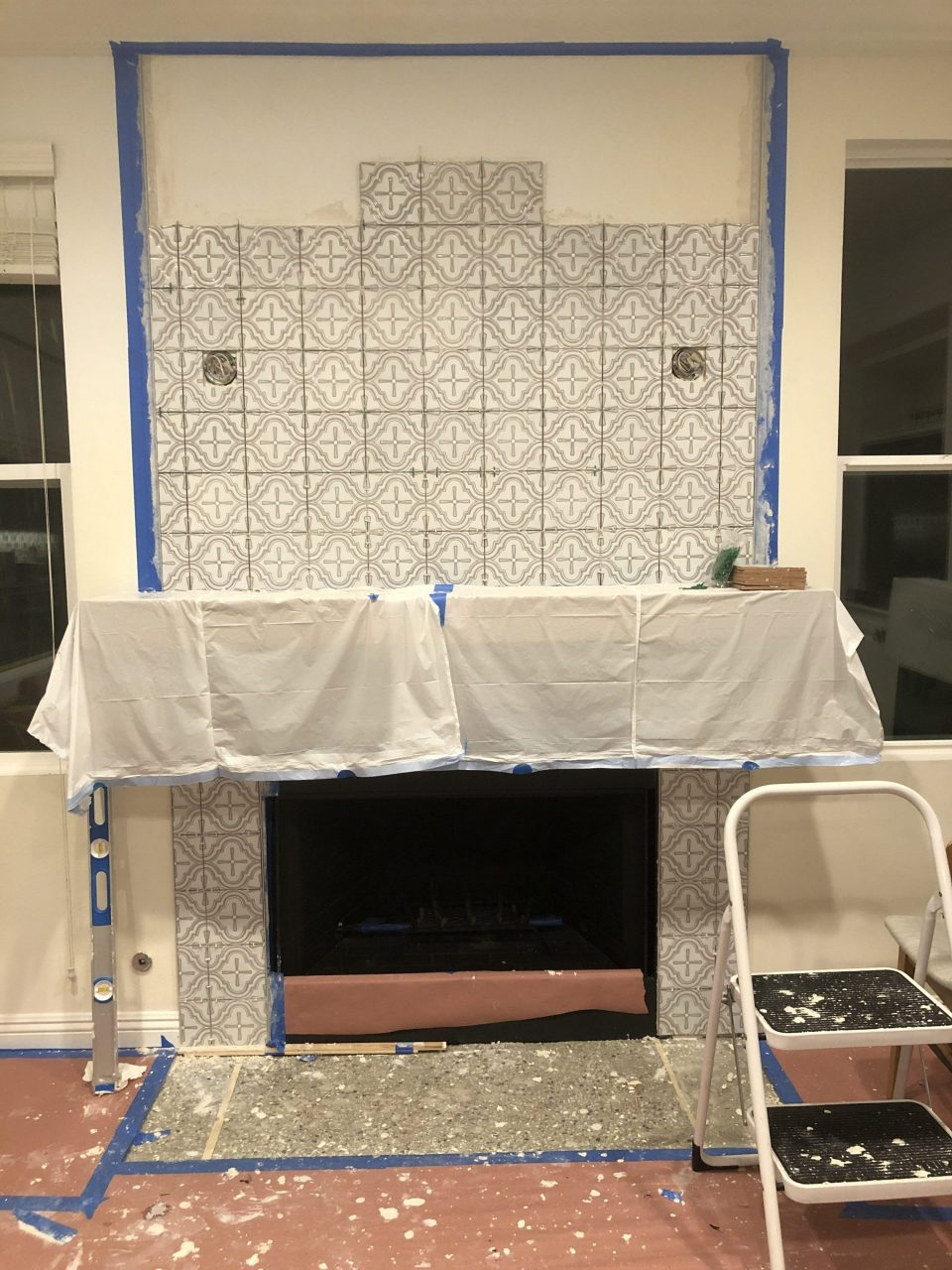 Tiling Process Shot