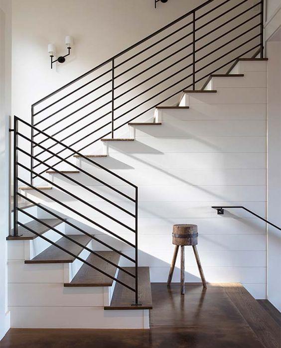 Sexy Black Staircase Railing