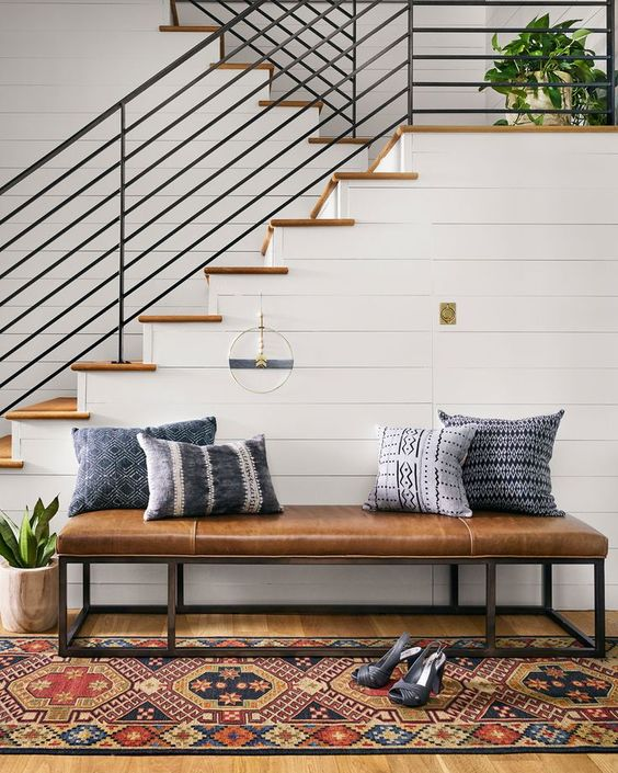 Add Contrast so Black Railings don't dominate your space!