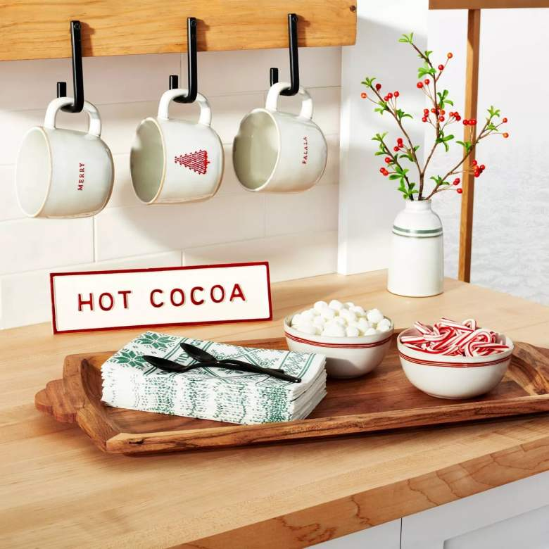 A serving tray makes a lovely hostess gift for the home