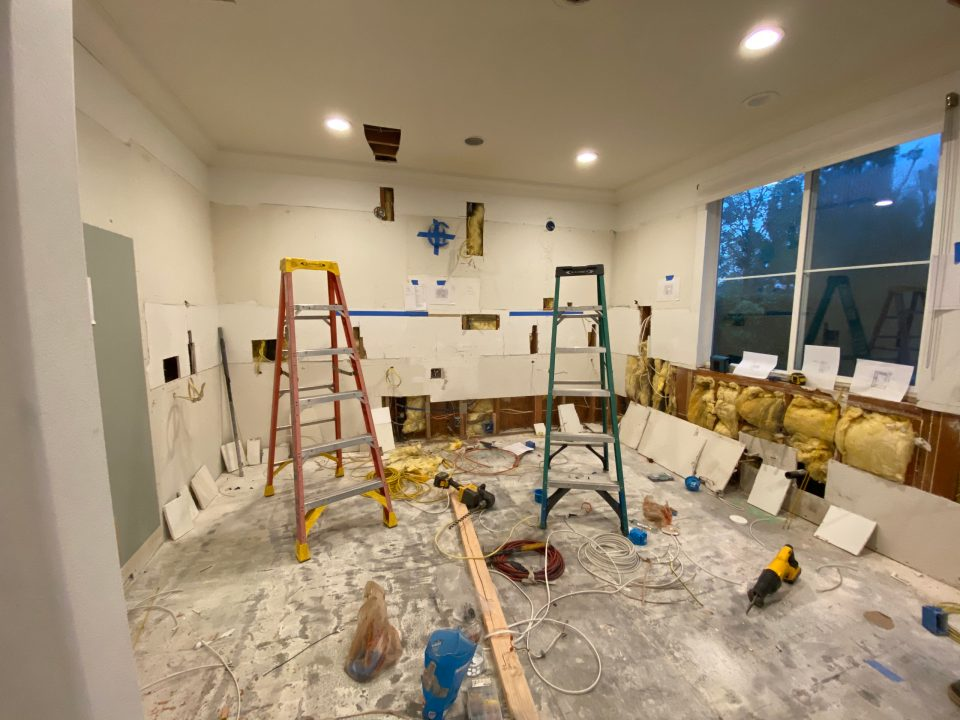 Live footage of our crazy house mid-renovation
