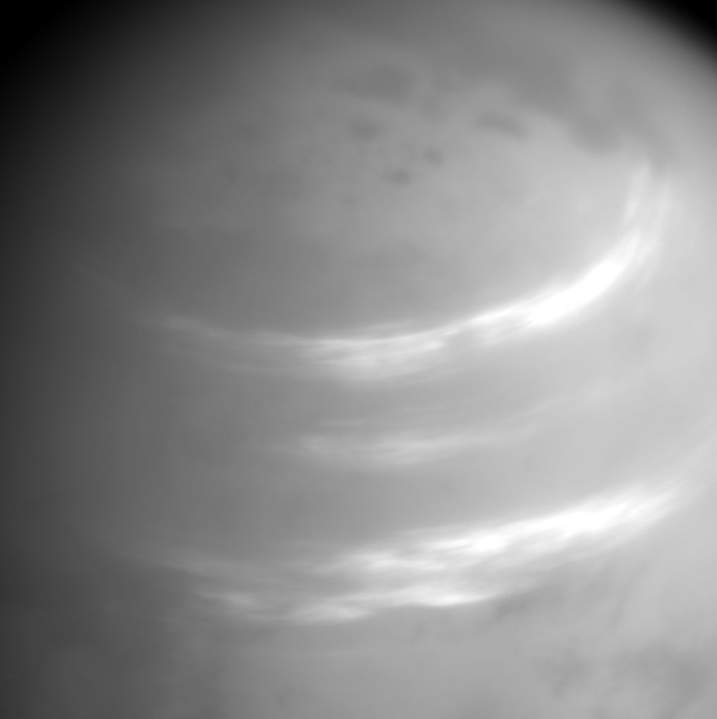 Titan's atmosphere.