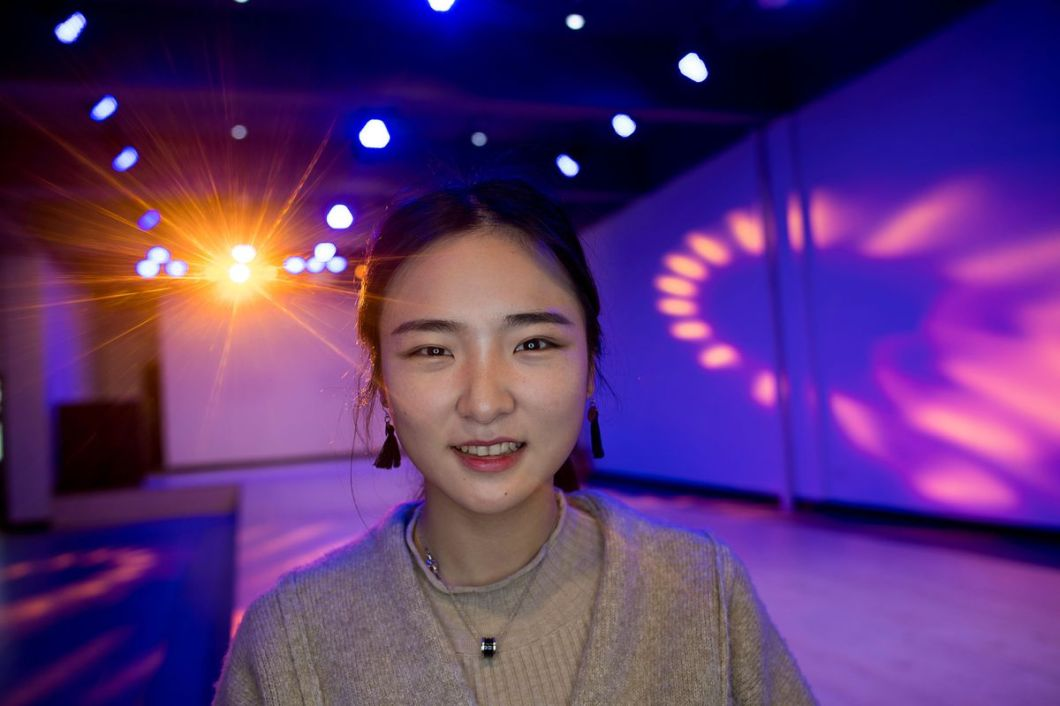 Mengna Jiang is one of many hoping to make it big