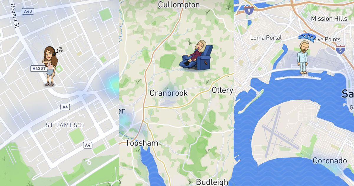 how to move your bitmoji on snapchat maps